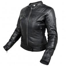 개러지 레이디스 가죽재킷(여성용/블랙) - HJL301FB